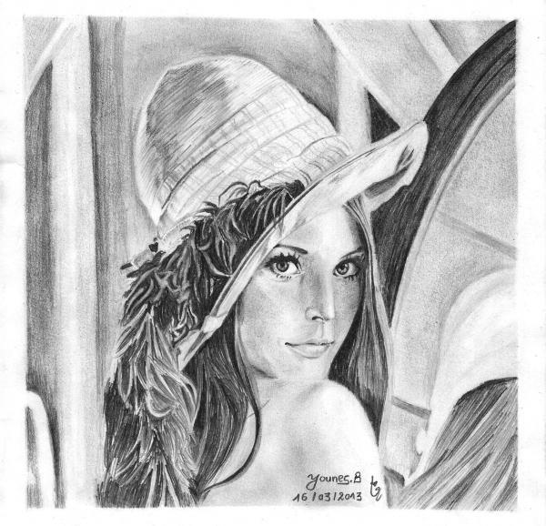 Lena by Yanis_dessin
